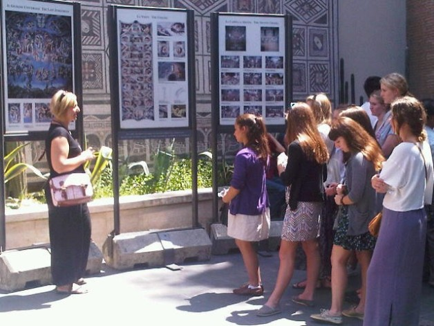 ISA High School Students on a Vatican Tour in 2011.