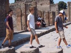 Boys' Pompeii Blog