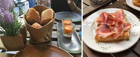 Tapas in Madrid and Toledo 7.29.15