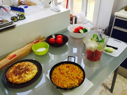 Learning to cook traditional spanish food in malaga spain isa carolineramirezcooking03 forumfinder Image collections